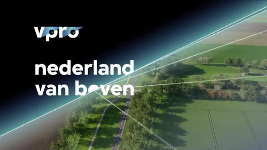 Nederland van Boven with logo VPRO